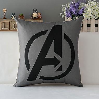 TavasDecor 17  Marvel Avengers Superhero Home Sofa Decor Throw Pillow Case Cushion Cover - The Avengers
