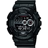 Casio G-Shock Digital Black Dial Men's Watch - GD-100-1BDR (G310)
