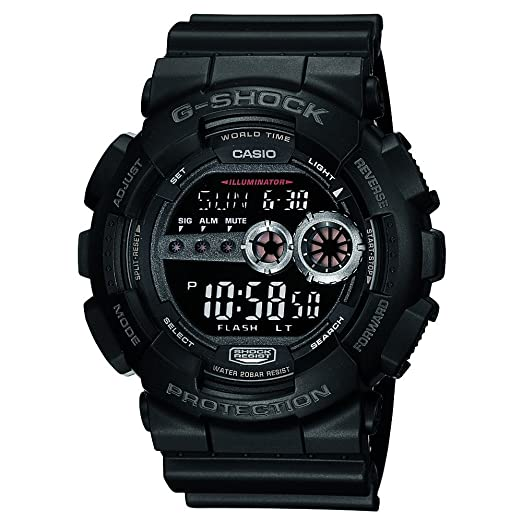 b5ad86dd31dbf Buy Casio G-Shock Digital Black Dial Men s Watch - GD-100-1BDR (G310)  Online at Low Prices in India - Amazon.in