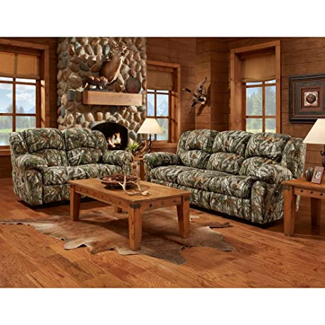 Amazoncom Cambridge Camo 3 Piece set Sofa Loveseat Recliner