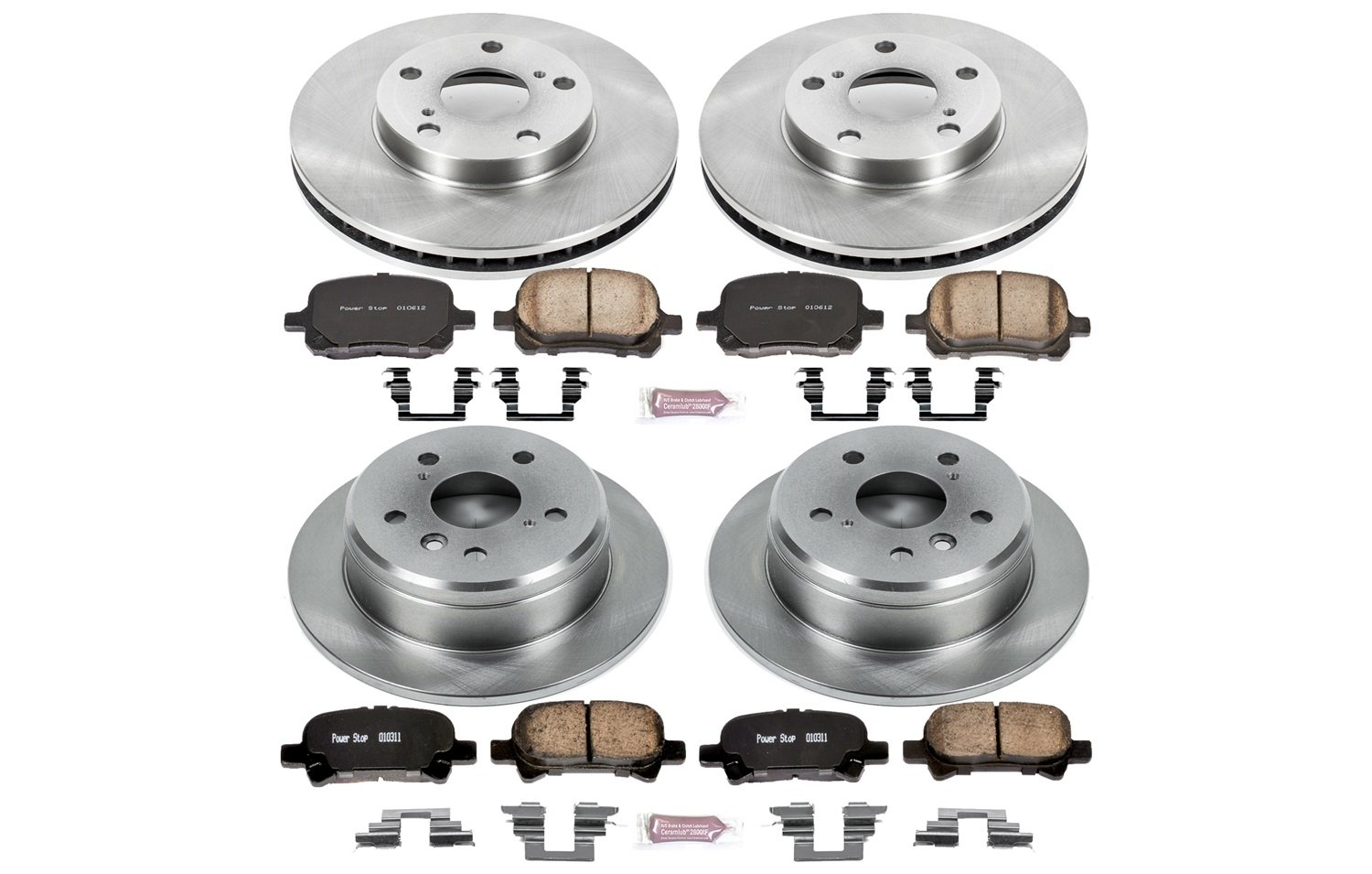 Autospecialty KOE1060 1-Click OE Replacement Brake Kit Power Stop