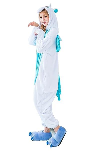 Pijamas de una pieza, diseño de unicornio