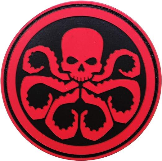 Cobra Tactical Solutions Marvel Avengers Hydra Parche PVC Táctico Moral Militar Cinta Adherente de Airsoft Cosplay Para Ropa de Mochila Táctica: Amazon.es: Hogar