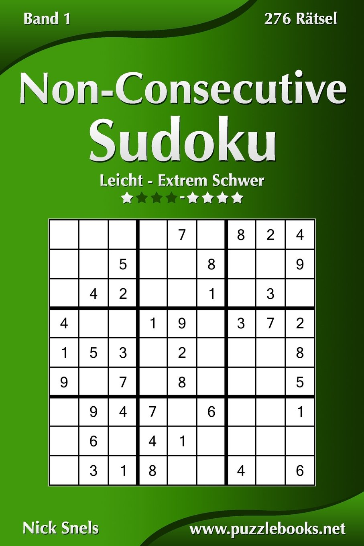 Non-Consecutive Sudoku - Leicht bis Extrem Schwer - Band 1 - 276 ...