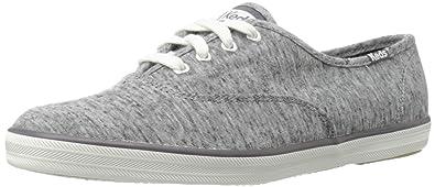 Keds Women's Champion Jersey Fashion Sneaker,Charcoal,6 ...