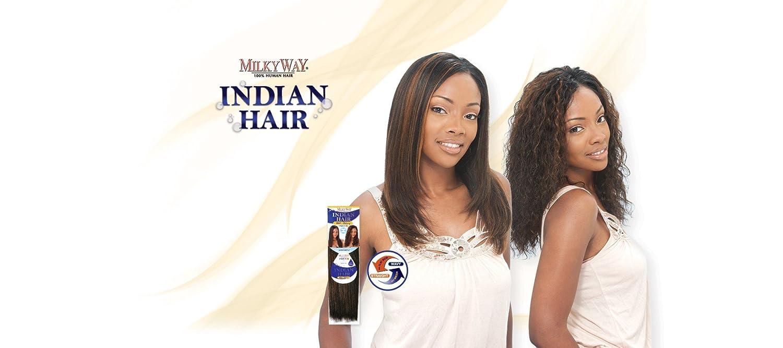 Amazon Milky Way 100 Human Hair Weave Indian Water Deep Mix