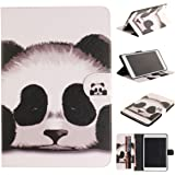 iPad Case, iPad Mini 2 Case, iPad Mini Case, iPad Mini 3 Case, Newshine Magnetic Closure Stand Folio Cover with Card Slots/Cash Holder for Apple iPad Mini&iPad mini 2&iPad Mini 3 (5 Panda)