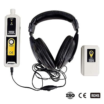 Amazon.com: allsun Ultrasonic Leak Detector & Transmitter Air Water Dust Leak Pressure Headphone Accessory Kit LED Indication: Automotive