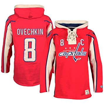 detailed look 3f77b 02f8e OTH Washington Capitals Alex Ovechkin Lacer Jersey Hoodie ...