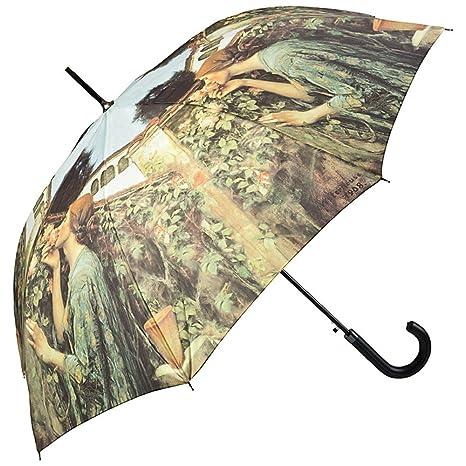 VON LILIENFELD Paraguas Automático Arte Motivo John W. Waterhouse: My sweet rose: Amazon.es: Equipaje