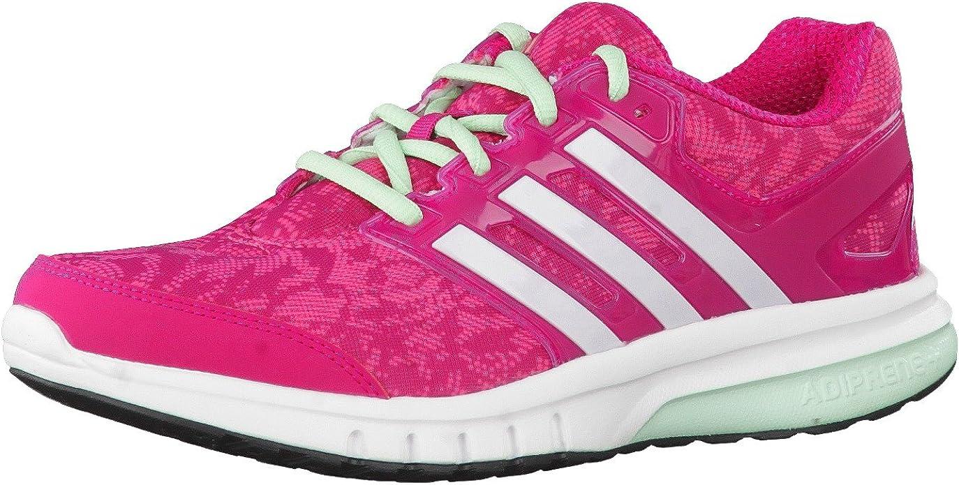 adidas - Zapatillas de running de mezcla de tejidos para mujer, Rosa - bold pink/white/frozen green, 42: Amazon.es: Zapatos y complementos