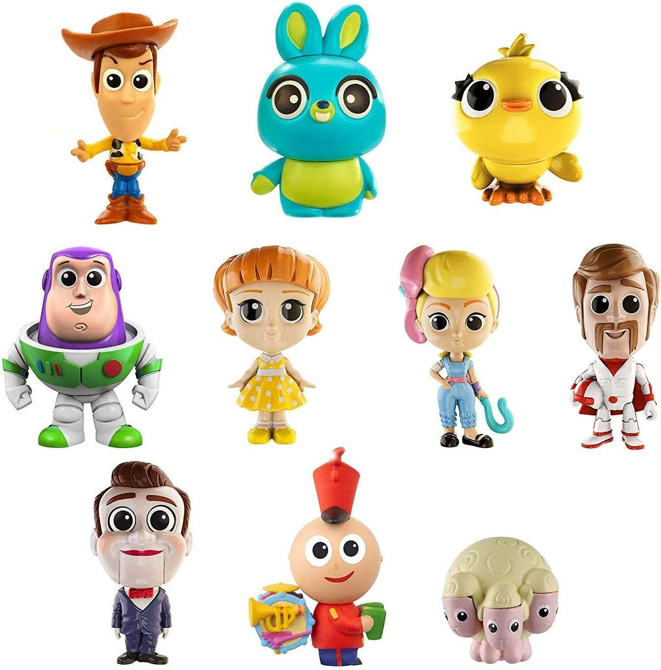 Toy Story Minis Ultimate New Friends 10 Pack Figures Disney Pixar Toy NEW