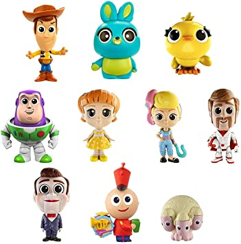 Mattel Disney Toy Story 4 Pack de 10 amiguitos, Mini Figuras ...