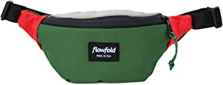 product image for Flowfold Rebel Fanny Pack Minimalist Waist Pack, Small Fanny Pack (Green)