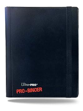 Ultra Pro - Álbum para Cartas coleccionables (UPR82895) (Importado): 4-Pocket Pro Binder (Black): Amazon.es: Juguetes y juegos