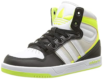 ADIDAS ORIGINALS Baskets Court Attitude K Enfant Noir et or