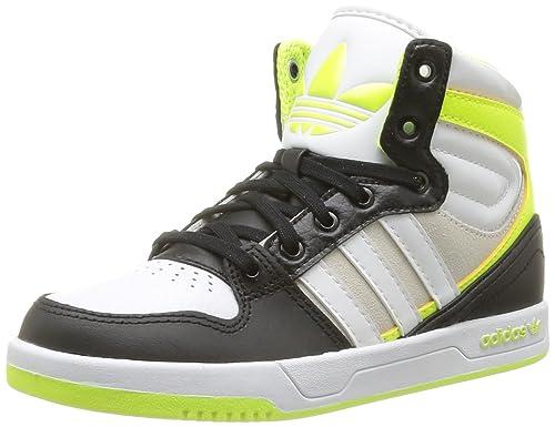 best website 7eac6 6fc54 adidas Originals Unisex-Child Court Attitude K-6 Trainers D67696  BlackRunning White