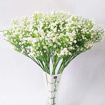 Amazon.com Decorations Artificial Flowers White Gypsophila