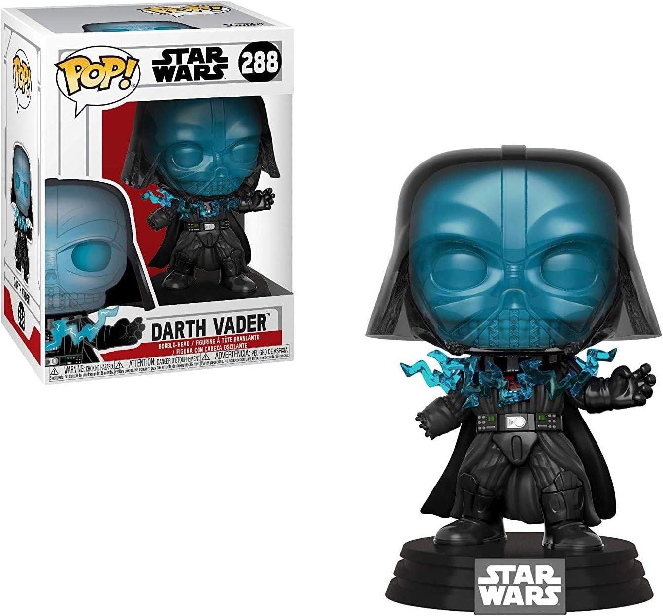 Star Wars: Return of The Jedi Vinyl Bobble-Head Figure Electrocuted Darth Vader Funko Pop Includes Compatible Pop Box Protector Case