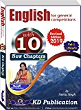 ENGLISH FOR GENERAL COMPETITIONS (HINDI)- VOL.1
