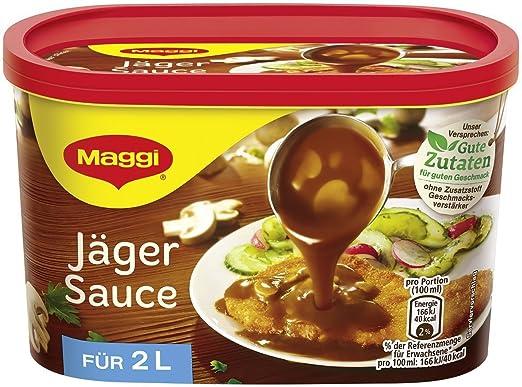 Jager Sobe, Jager Sauce (cazadora) (Maggi) 2 litros por ...