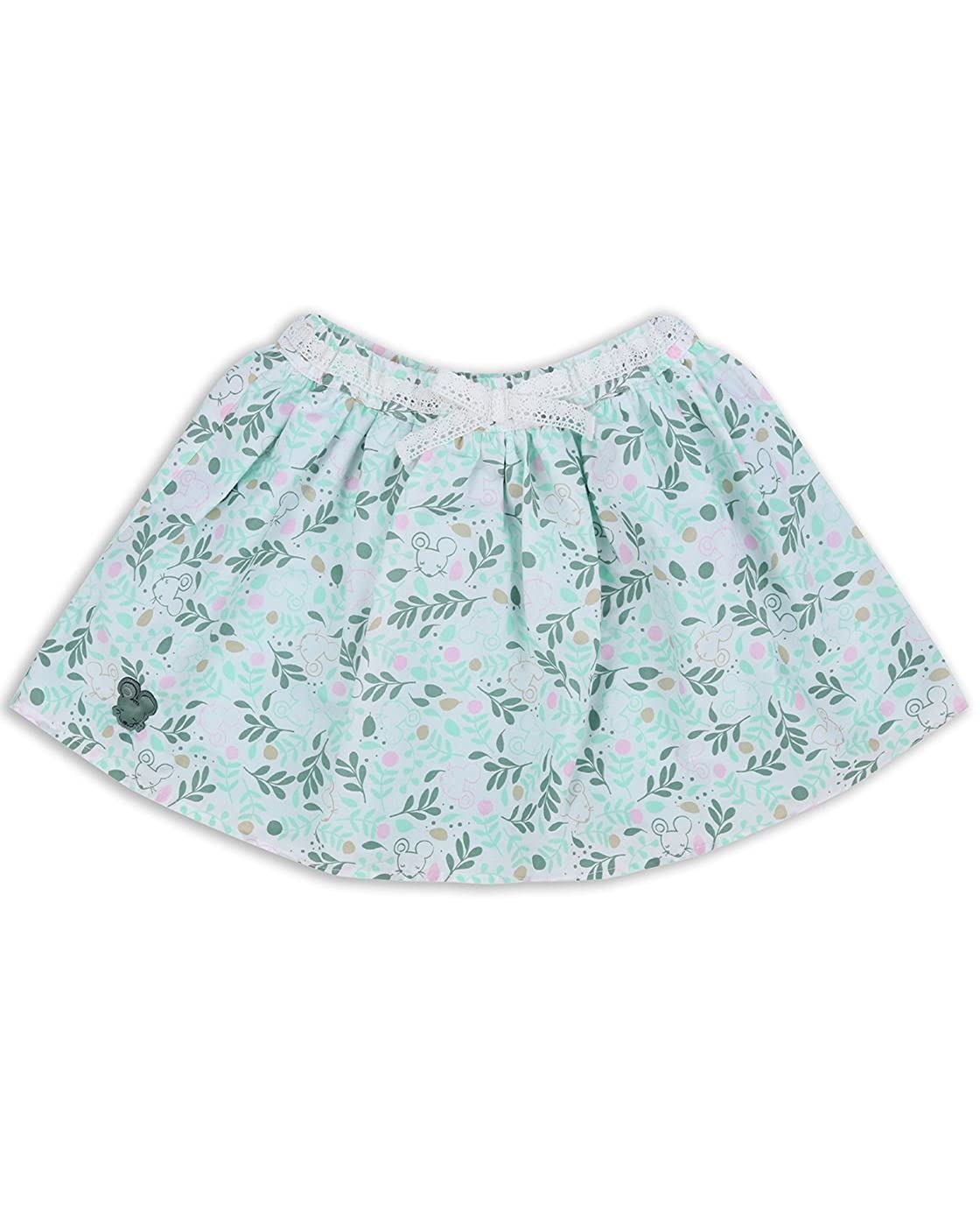 The Essential One - Baby Kids Girls - Leaves Skirt - Green - EOT344