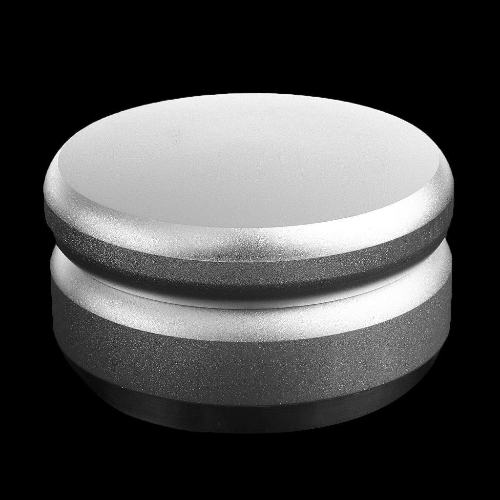 FLAMEER Tamper da Caffe Base in Acciaio Inossidabile Regolabile in Altezza 58mm – Top in Alluminio Filato – Argento #1 Prezzi