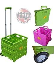 Carrito de transporte MP Essentials. Carrito de transporte, capacidad de 40kg, ideal para las compras y campamento