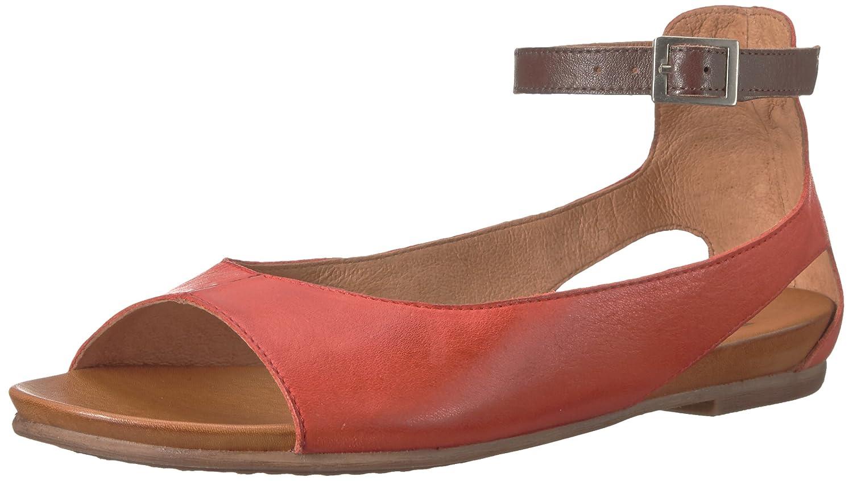 Miz Mooz Women's Angel Flat Sandal B0769NN17Y 8.5 B(M) US|Red