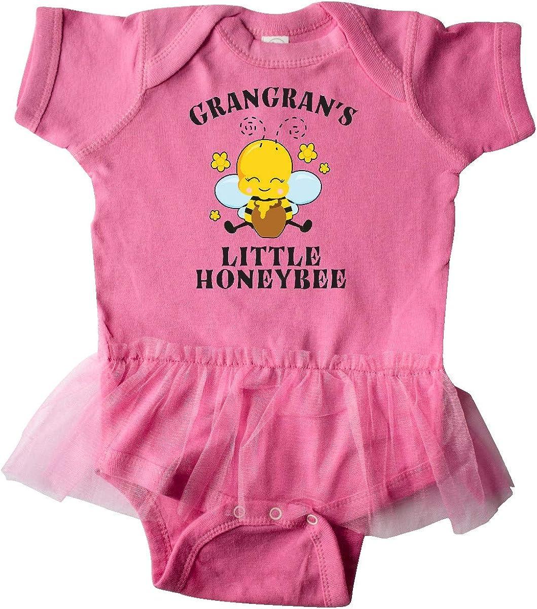 inktastic Cute Bee Grangrans Little Honeybee with Stars Infant Tutu Bodysuit