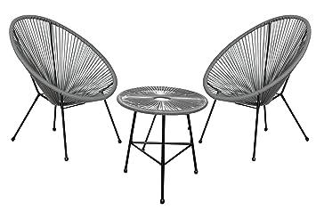 Autrefois Salon de Jardin et d\'intérieur, 2 chaises et Une ...