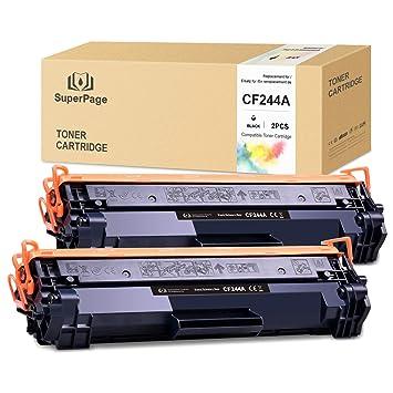 Superpage Compatible HP CF244A 44A Cartuchos de Toner reemplazo ...