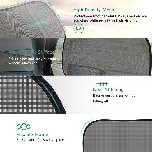 Amazon.com: (5 paquetes) Car ventana Parasol para ventana ...