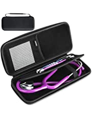 Stethoscope Case,AGPTEK Hard Carrying Bag Compatible for 3M Littmann Classic III & II SE/MDF/ADC/Omron Stethoscope,Includes Mesh Pocket for Accessories