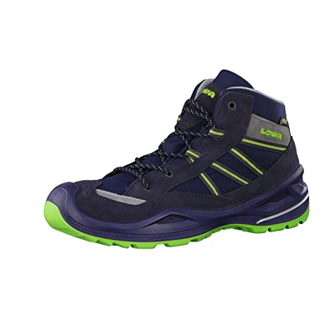in stock factory outlet incredible prices Lowa Simon II GTX QC Junior - Navy/Lime