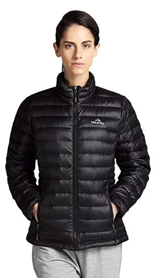Amazon.com: MOUNTEC Women's Goose Down Jacket Packable Lightweight ...