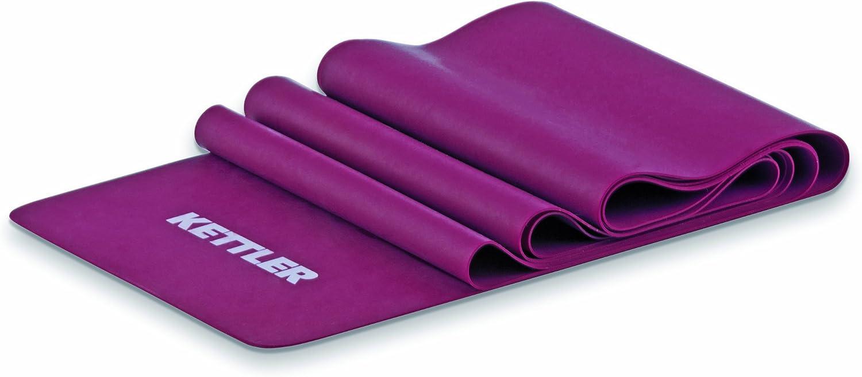 und Partner/übungen Kettler Latex Flexiband zur Muskelstabilisation Fitnessband mit mittlerem Widerstand Gymnastikband f/ür Einzel
