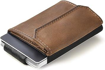 Geschenkbox Herrengeldbörse mit RFID-Schutz ★SMART★  Magic Wallet Münzfach