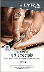Lyra 2051120 Rembrandt Art Specials Sketching Pencils Set, Mix