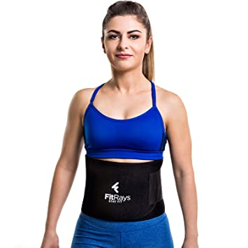 9a69fb69f19 FITRAYS Back Support Belt For Women   Men - Adjustable Waist Trainer ...