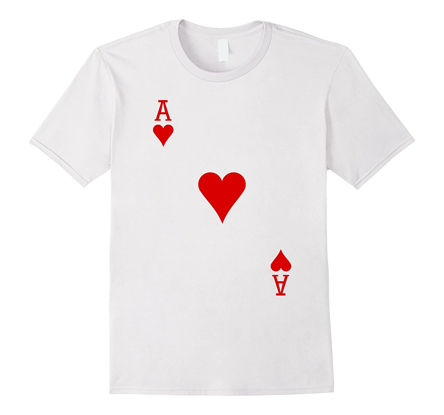 Ace of Hearts Card T-Shirt-ANZ