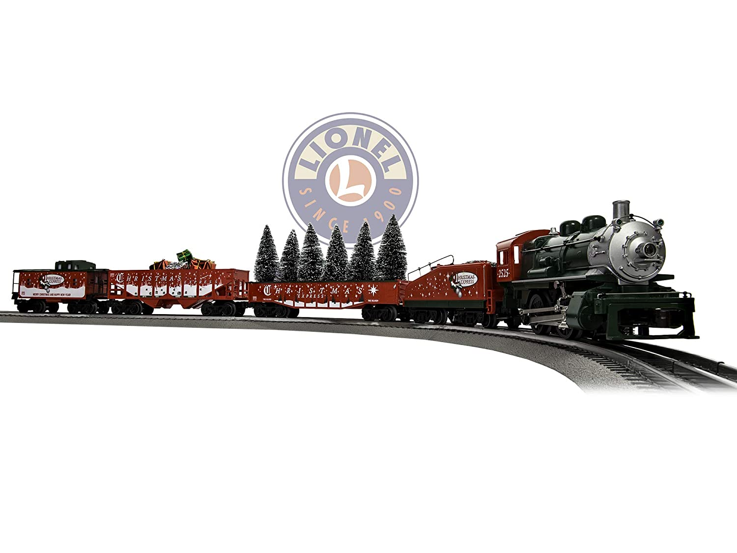 Christmas Train.Lionel The Christmas Express Electric O Gauge Model Train Set W Remote And Bluetooth Capability