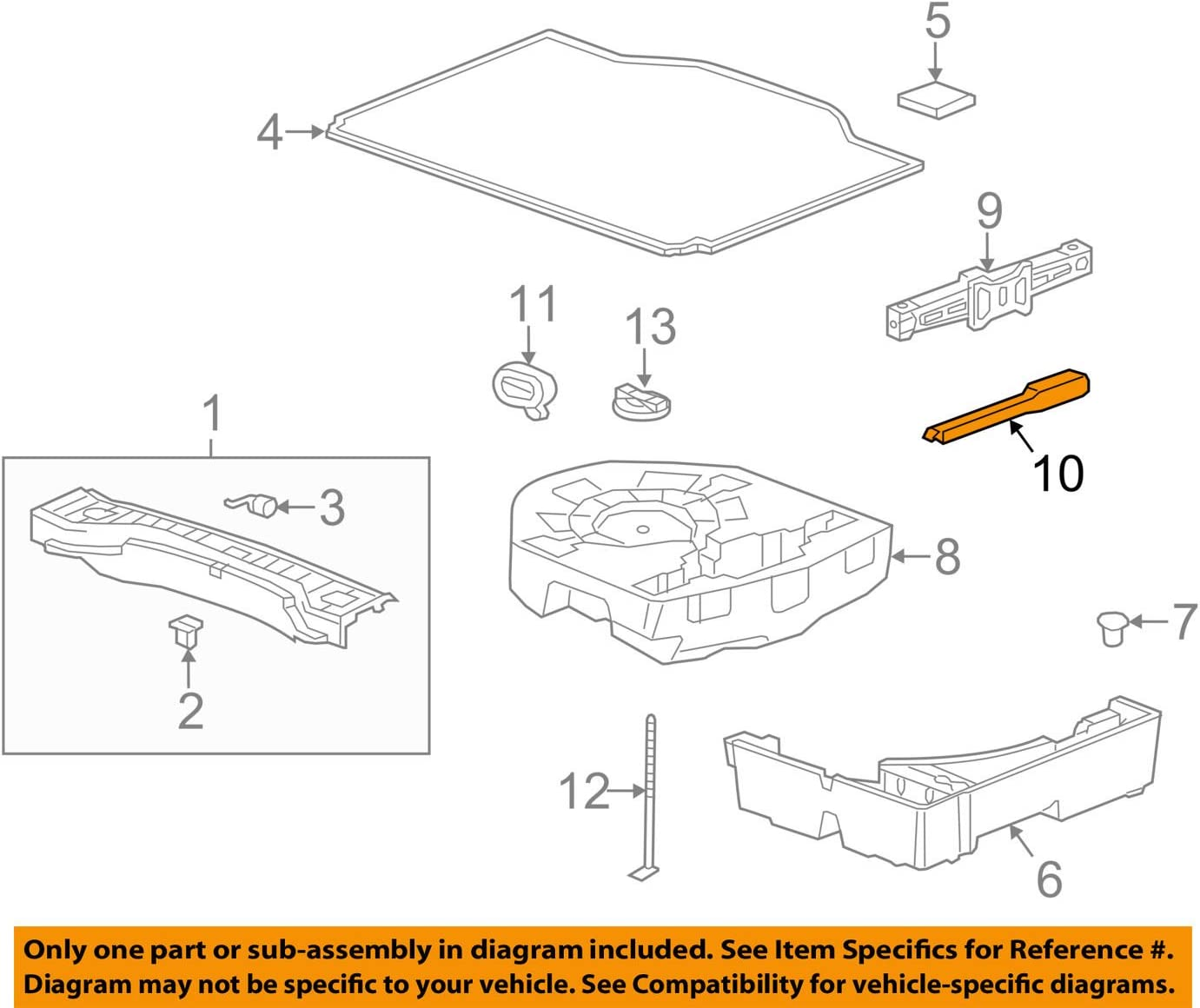 13348506 Genuine GM Wrench Part#