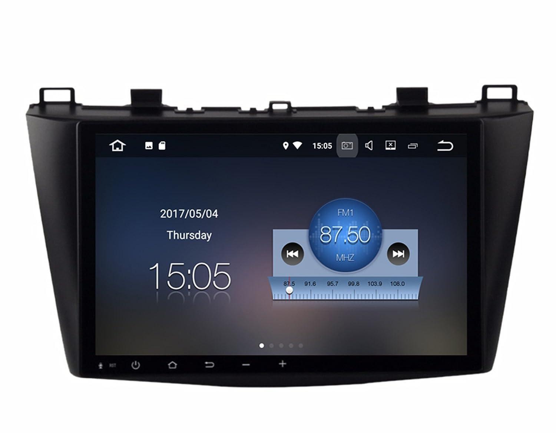 RoverOne Android 7.1システムクアッドコアラージスクリーンカーGPSナビゲーション2GB RAM16GB ROMラジオGPS HDMIマルチメディアにfor Mazda 3 2010 2011 2012 B078RZ6K5L