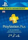 PlayStation Plus 3 Month Membership [PSN Code - UK account]