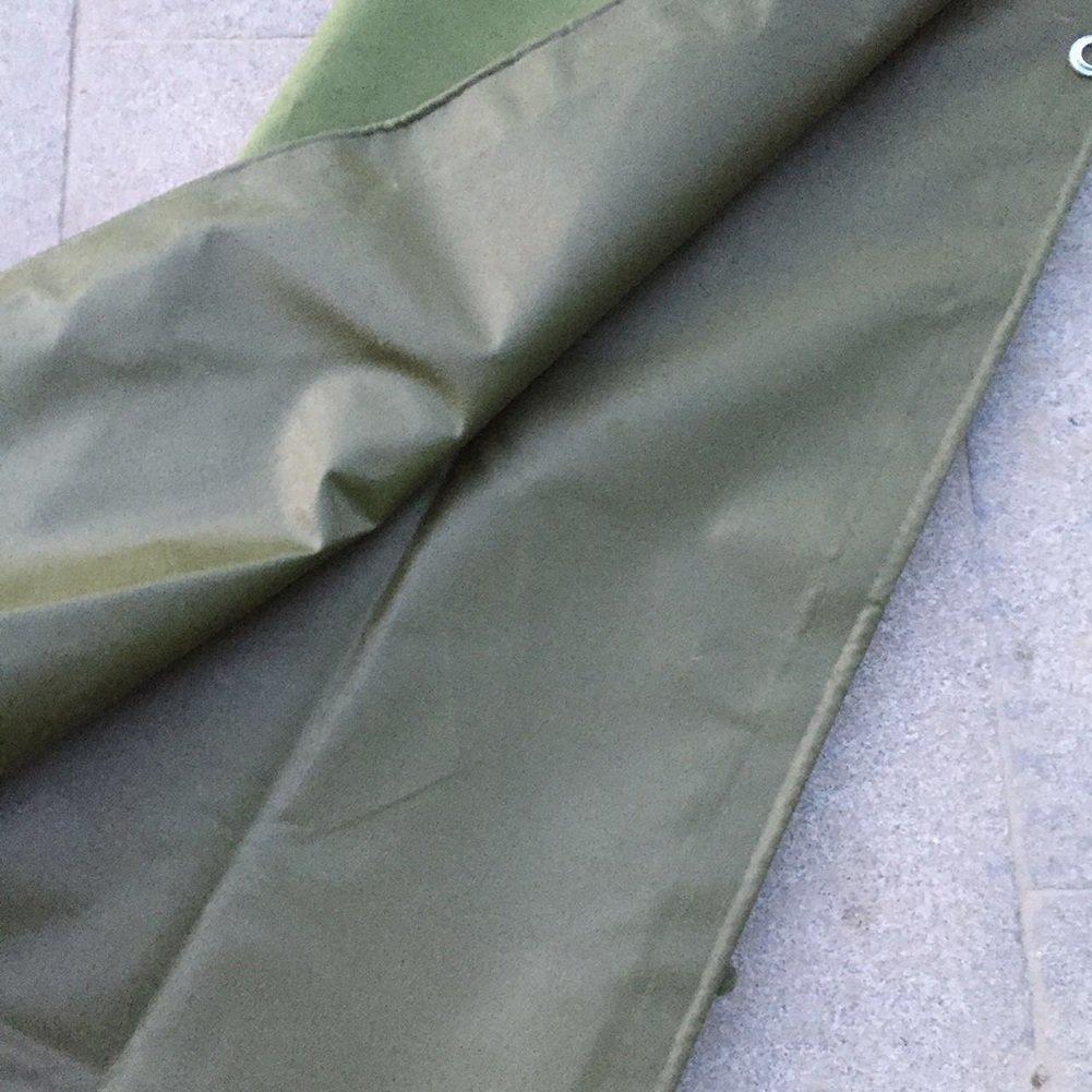 ZEMIN オーニング サンシェード ターポリン 防水 日焼け止め テント シート ルーフ 防風 防塵の 厚い ポリエステル、 緑、 600G/12サイズあり (色 : 緑, サイズ さいず : 2X3M) B07D6LHSJS 2X3M|緑 緑 2X3M