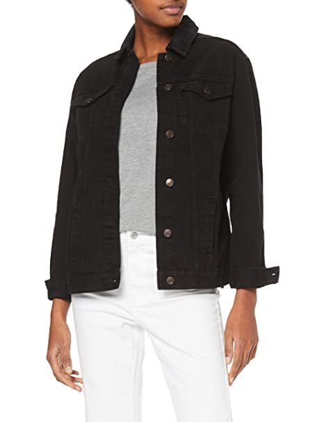 New Look Oversized Jacket Peachy Chaqueta para Mujer: Amazon ...