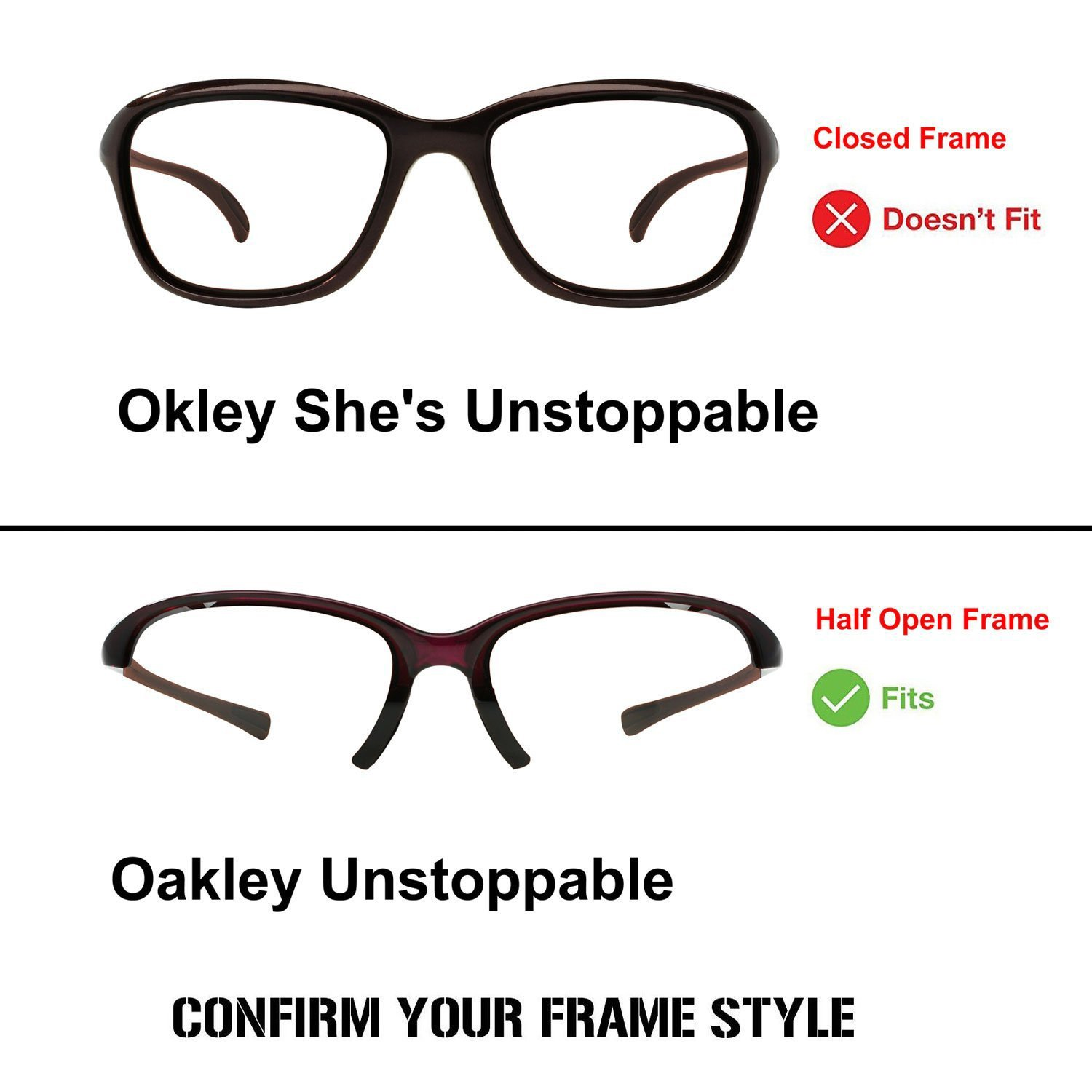 b9fafa58006 Amazon.com   ACOMPATIBLE Replacement Lenses for Oakley Unstoppable  Sunglasses OO9191   Sports   Outdoors