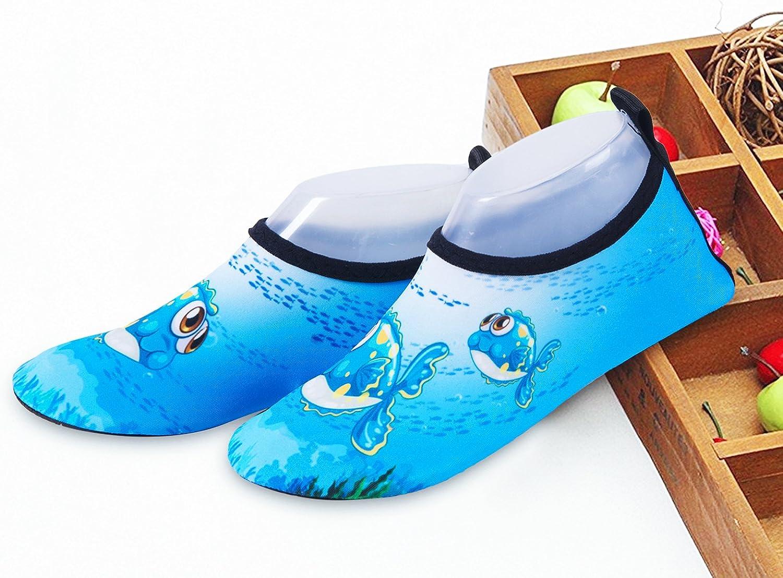 IceUnicorn Kinder Schwimmschuhe M/ädchen Strandschuhe Jungen Aqua Schuhe Baby Badeschuhe f/ür Beach Pool Surfen Yoga Unisex