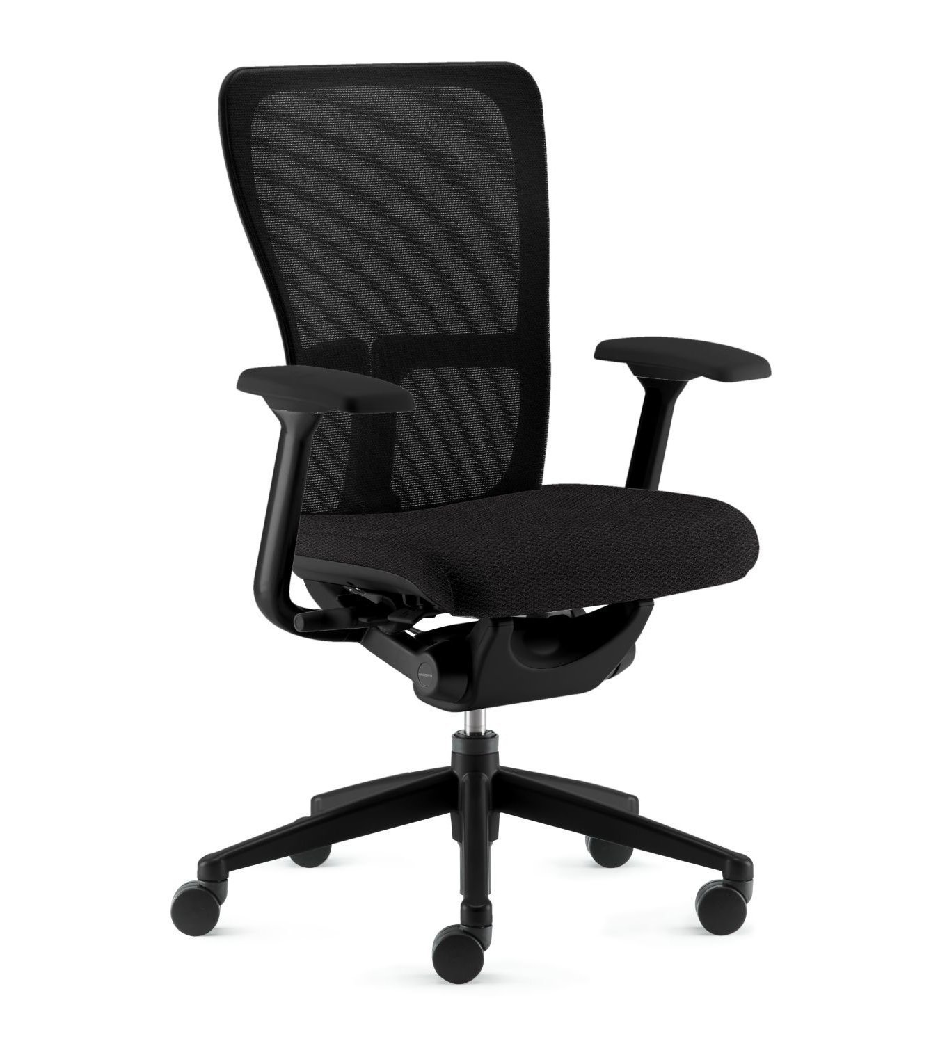 Amazon Zody Chair by Haworth Basic Fixed Arms Pneumatic